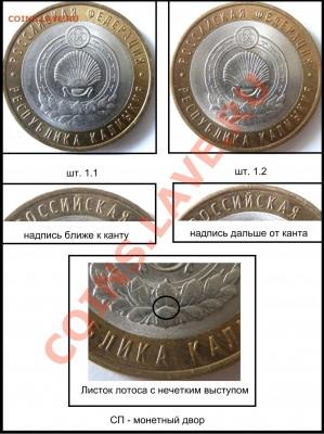 10 рублей Калмыкия - учимся определять шт. (УП). - P4030818.JPG