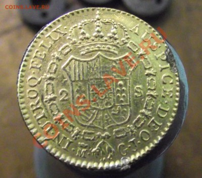 иностранная монета, золото - DSCF8771.JPG