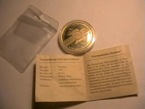 памятный жетон германия - HGJHH