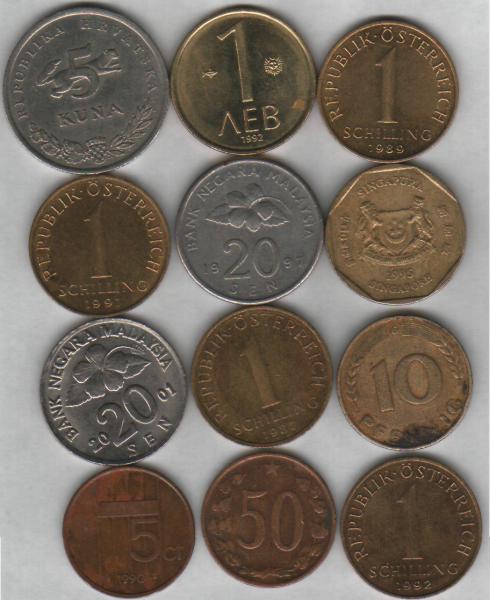 Куплю недорогие монеты иностранных государств. - ин 1