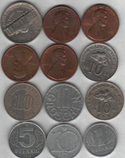 Куплю недорогие монеты иностранных государств. - ин 2