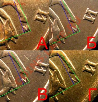 10 копеек 2002 М - Определение разновидностей аверсов - общий вид