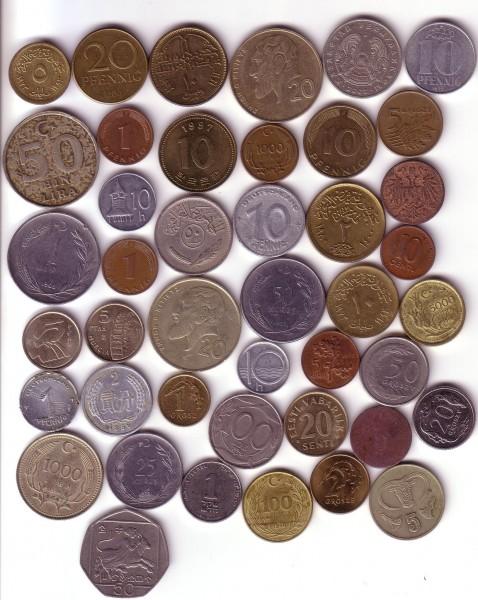 Куплю недорогие монеты иностранных государств. - иностр