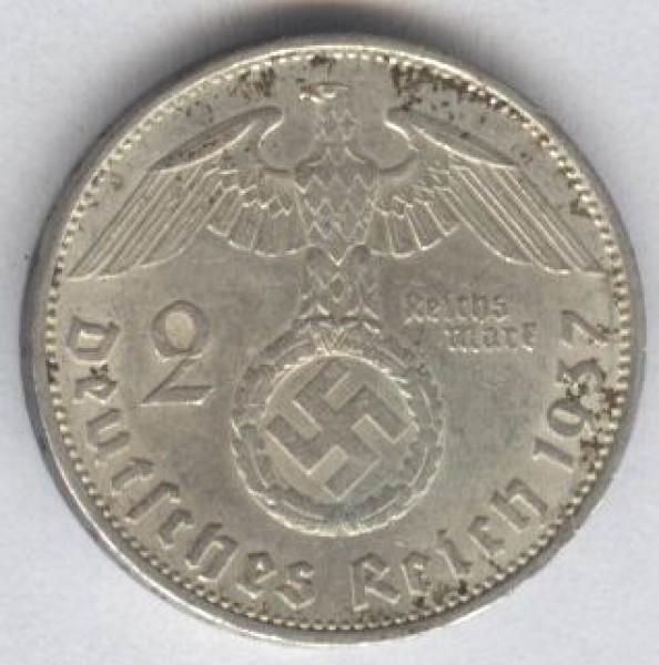 серебрянные монеты Германии - 2037b