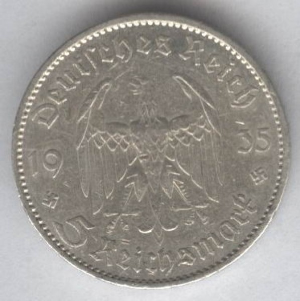 серебрянные монеты Германии - 2030b