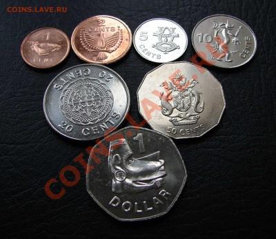 наборы иностранных монет в отличном состоянии - соломоновы острова 1
