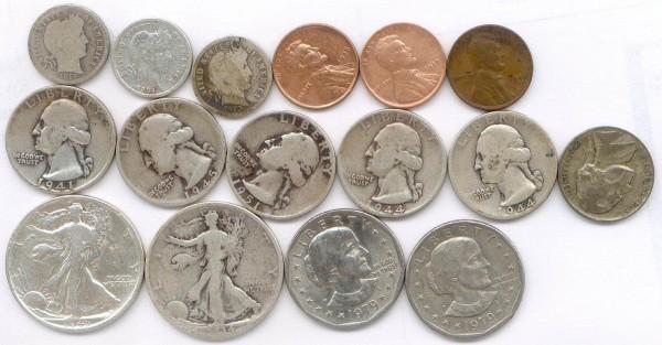 Монеты США - usa1.JPG