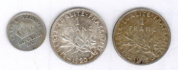 монеты Франции - france1.JPG