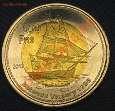 Самая красивая биметаллическая монета! - 500фр