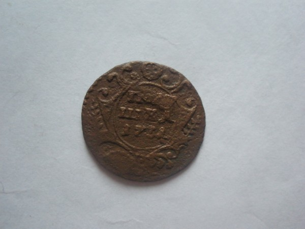полушка 1731, 3 коп 1877 - P9060275.JPG