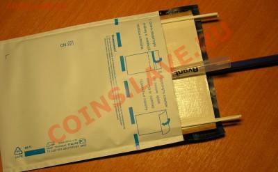 Упаковка монет для пересыла почтой. - DSCN8556.JPG