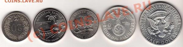 Half Dollar 1964, 2 марки 1938 е и мелоч - img086