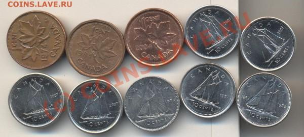 Монеты Канады - Монеты Канады 002