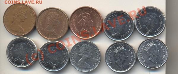 Монеты Канады - Монеты Канады 001