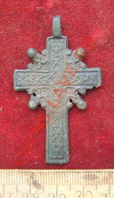 МЕТАЛЛОПЛАСТИКА 15-19ВВ. (ПОПОЛНЯЕМАЯ) - крест с эм-2
