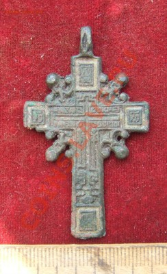 МЕТАЛЛОПЛАСТИКА 15-19ВВ. (ПОПОЛНЯЕМАЯ) - крест с эм-1