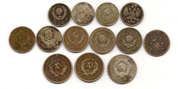 Оцените монеты 1903-1941 - 1-реверс