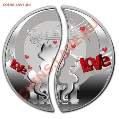 Кошки на монетах - НИУЭ-In Love-1