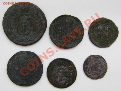 Сибирские монеты, чем почистить? - сиб монеты1.JPG