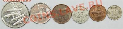 с РУБЛЯ набор ИСЛАНДИЯ (6 монет) до 14.02-в 22.00 по МСК - IMG_7635 (Medium).JPG