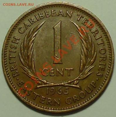 БРИТАНСКИЕ КАРИБЫ - 1 цент 1965 - до 16 февраля - 496