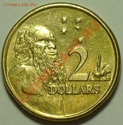 АВСТРАЛИЯ - 2 доллара 2003 - Абориген - до 16 февраля - 406