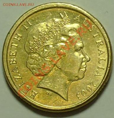 АВСТРАЛИЯ - 2 доллара 2003 - Абориген - до 16 февраля - 407