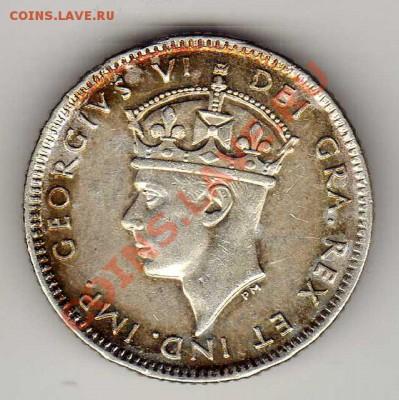 Ag Канада (Ньюфаундленд) 10 центов 1945 до 18.02-22ч (4099) - img999