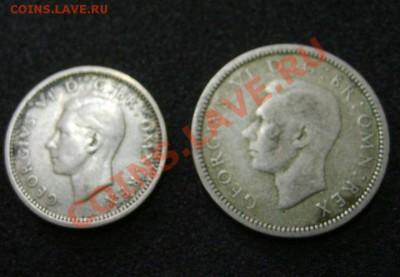 АНГЛИЯ : 3 ПЕНСА+6 пенсов 1940гг  , серебро !!! - S6000319.JPG