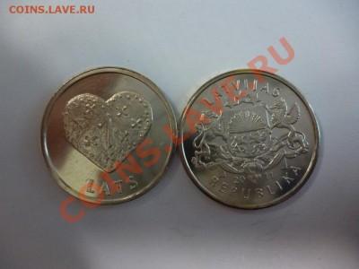 Латвия 1 лат 2011 Печенье Сердце (фикс - 90 рублей) 15.02 - P1000895.JPG