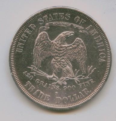 Торговый доллар США - Scan4
