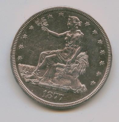 Торговый доллар США - Scan3
