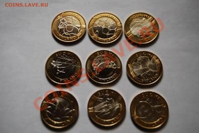 Набор 5-евровых монет Финляндии(2010-2011, серия регионы)Unc - DSC_0529.JPG