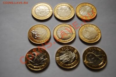 Набор 5-евровых монет Финляндии(2010-2011, серия регионы)Unc - DSC_0531.JPG