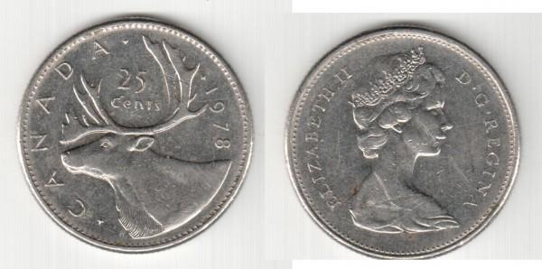 Канада 25 центов. 1978г. - skf220.JPG