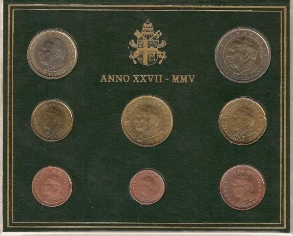 Набор Ватикана 2005 года - Vati05