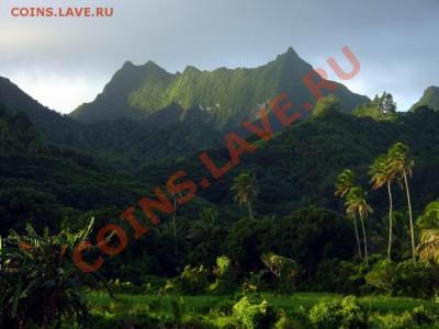 Монеты с ГОРАМИ (любых стран) - CookIslands-Rarotonga-TeManga-