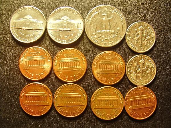 Оценитк кучку монет США - США Реверс