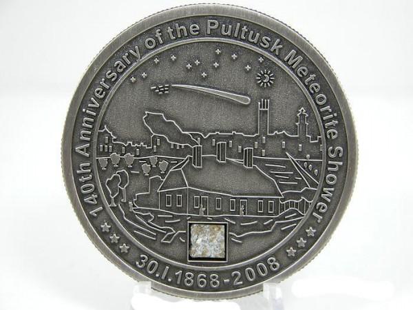 5 серебряных баксов с метеоритом. Кто знает? - poland
