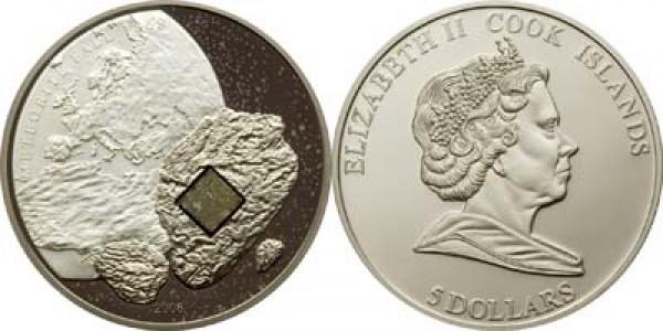 5 серебряных баксов с метеоритом. Кто знает? - 2008pultusk