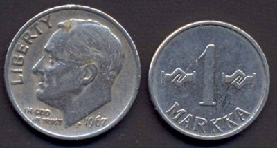 Что попадается среди современных монет - 222