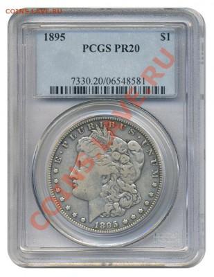 ЧАСТО ЗАДАВАЕМЫЕ ВОПРОСЫ (НОВИЧКАМ ЧИТАТЬ ОБЯЗАТЕЛЬНО) - PF20_slab Morgan Dollar 1895