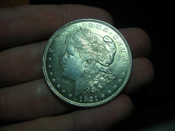 1 Доллар 1921г. - DSCN7479.JPG
