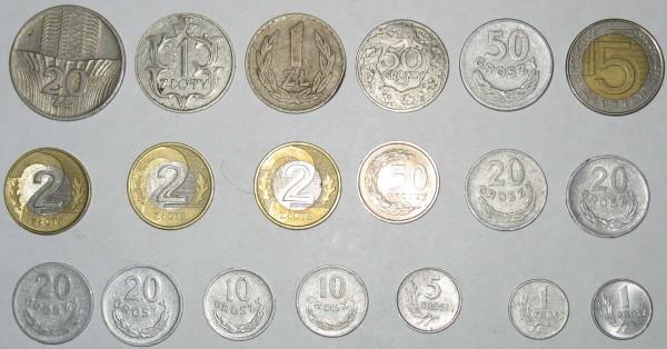 Монеты Польши - польша