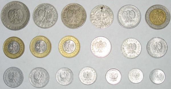 Монеты Польши - польша_