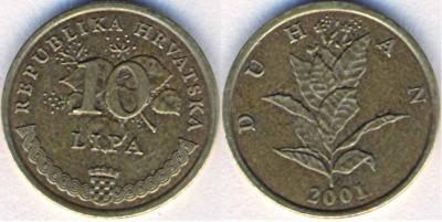 Что попадается среди современных монет - Хорватия