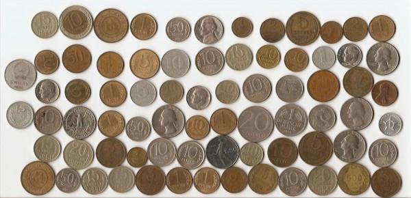 Специалисты, подскажите стоят ли чего-нибудь эти монеты - moneti