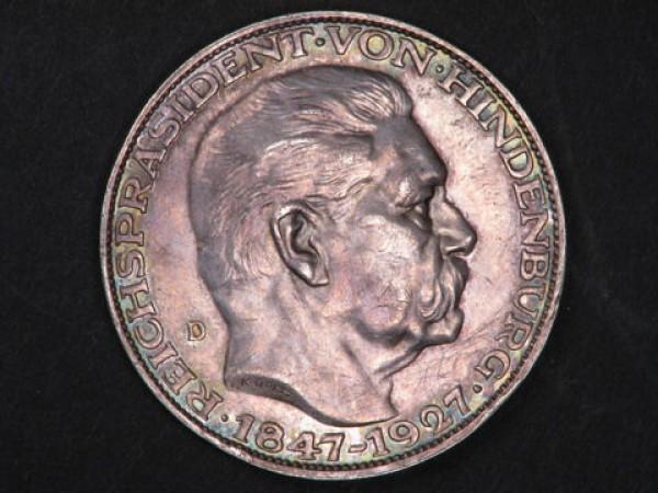 5 марок (медаль?) 1927 D - 5 марок1