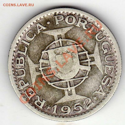 Ag Порт.Гвинея 10 эскудо 1952 до 30.09 в 22.00мск (6789) - img164