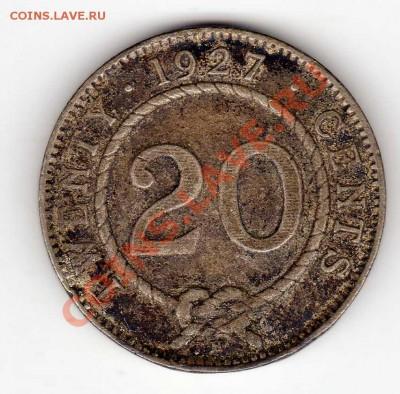 Ag Саравак 20 центов 1927 до 30.09 в 22.00мск (6670) - img176